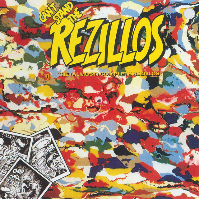 The Rezillos Can't Stand the Rezillos album cover