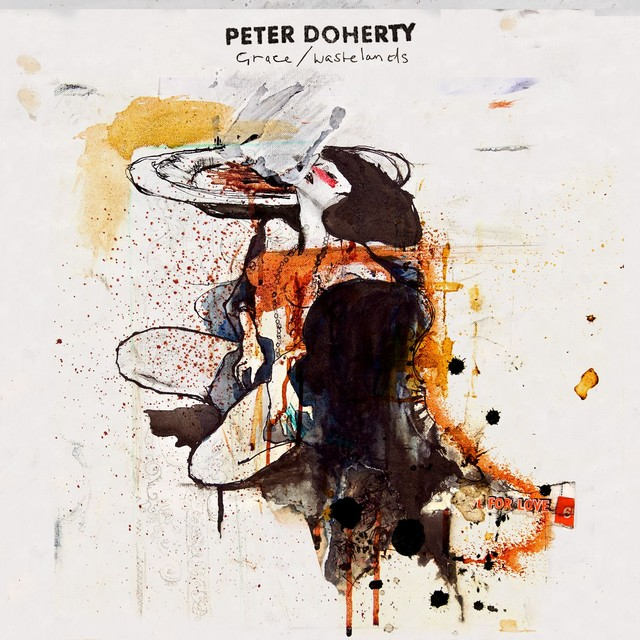 Album cover for Grace/Wastelands by Peter Doherty