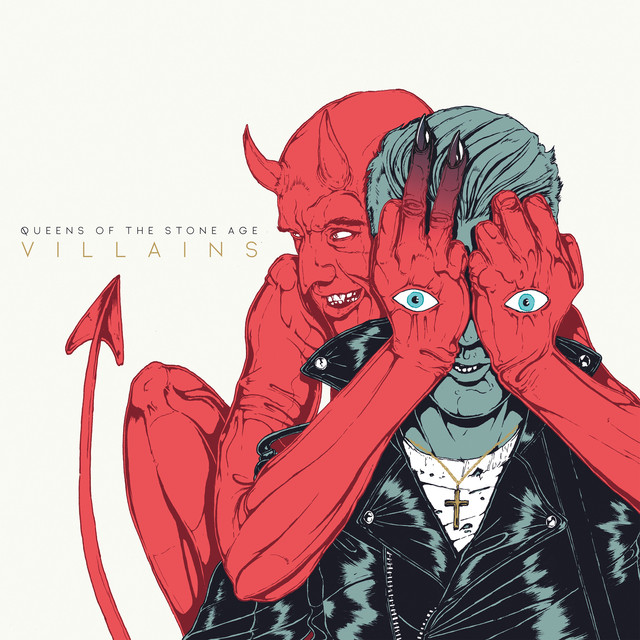Queens of the Stone Age Villains album cover