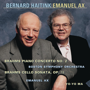 Brahms: Concerto No. 2 for Piano and Orchestra, Op. 83 & Sonata in D Major, Op. 78 (Remastered) Albumcover