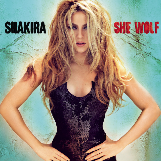 Shakira She Wolf (Expanded Edition) album cover