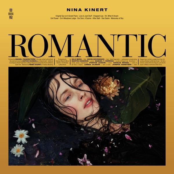 Skivomslag för Nina Kinert: Romantic