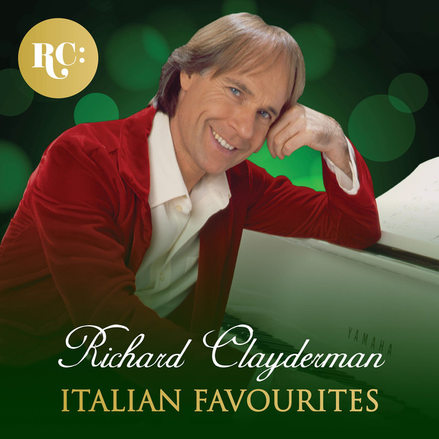 Album cover for Italian Favourites by Richard Clayderman
