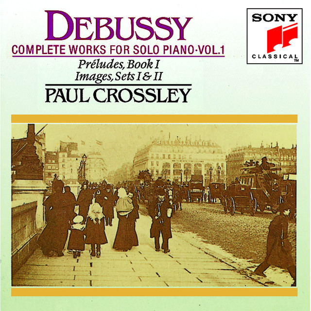 Debussy: Complete Works for Solo Piano, Vol. I Albumcover