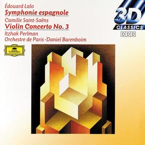 Lalo: Symphony espagnole op. 21 / Saint-Saens: Concerto for Violin and Orchestra No. 3 Albumcover