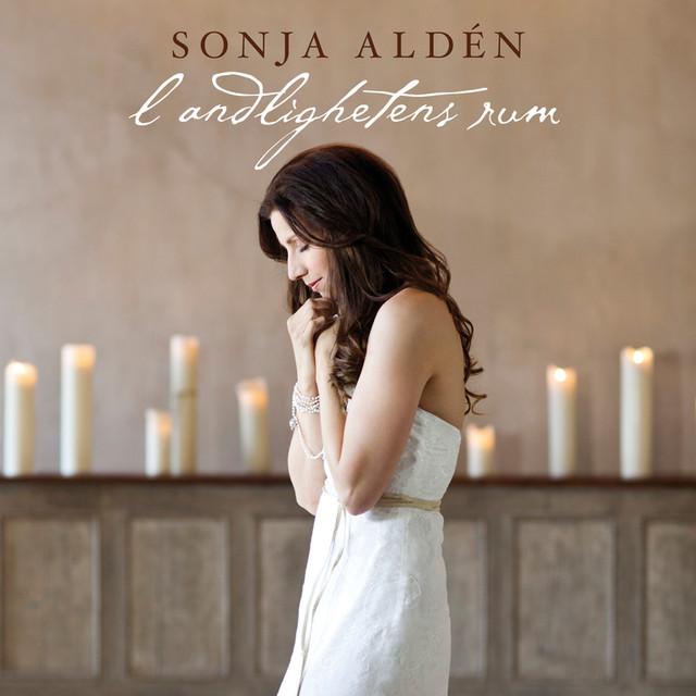 Skivomslag för Sonja Aldén: I Andlighetens Rum