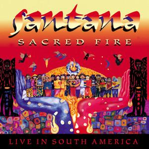 Sacred Fire: Santana Live In South America Albumcover