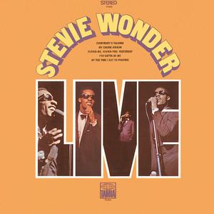 Stevie Wonder Live Albumcover