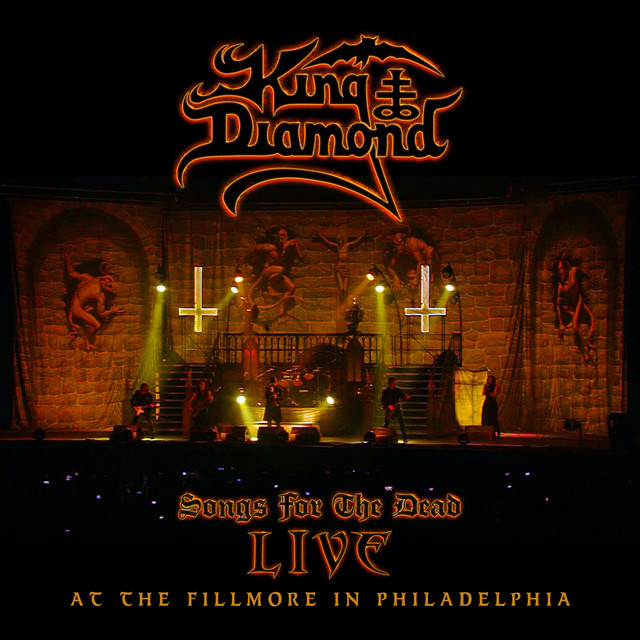 King Diamond Songs for the Dead: Live at the Fillmore in Philadelphia album cover
