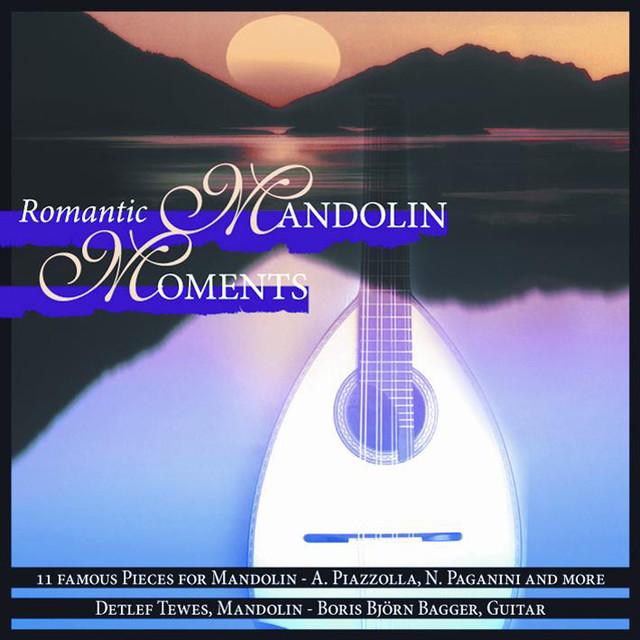 Romantic Mandolin Moments Albumcover