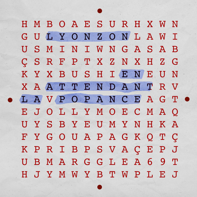 Album cover for En attendant la popance by Lyonzon