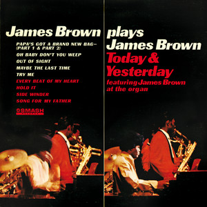 James Brown Plays James Brown Today & Yesterday Albumcover