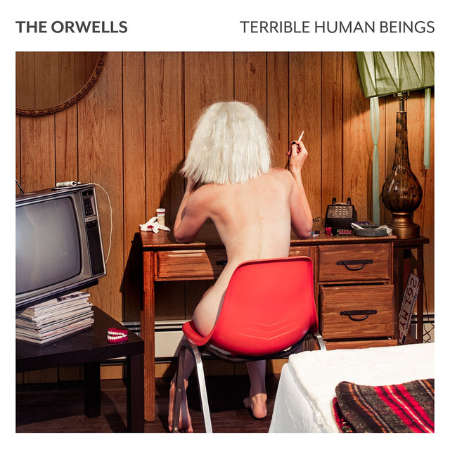 Album cover for Terrible Human Beings by The Orwells