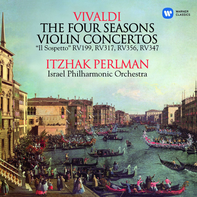 Vivaldi: The Four Seasons & Violin Concertos Albumcover