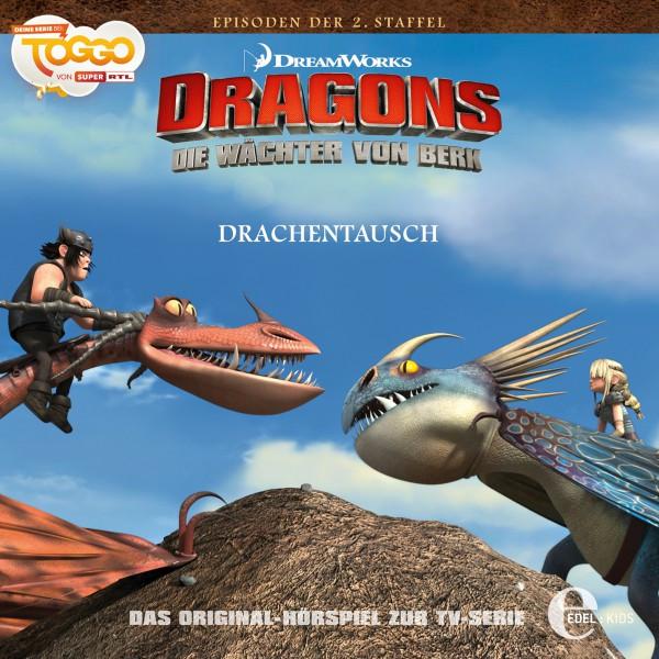 Folge 18: Drachentausch  -  Die Aal-Insel (Das Original-Hörspiel zur TV-Serie) Cover