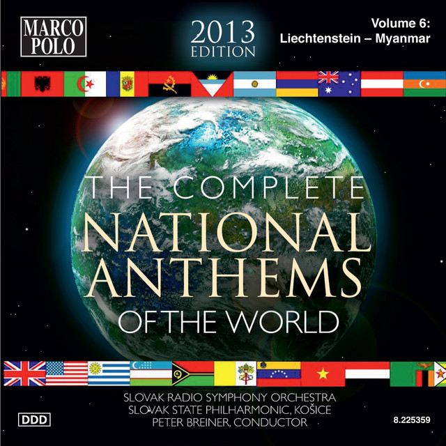 The Complete National Anthems of the World (2013 Edition), Vol. 6