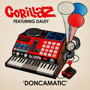 Gorillaz, Daley  , Daley Doncamatic cover