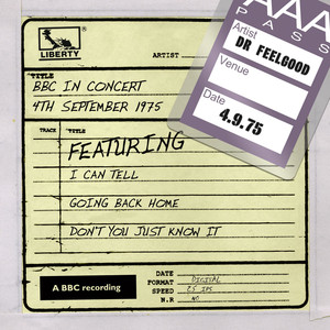 Dr Feelgood - BBC In Concert (4th September 1975) album