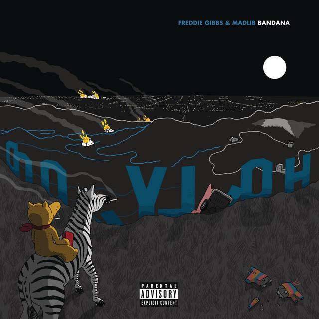 Skivomslag för Freddie Gibbs & Madlib: Bandana