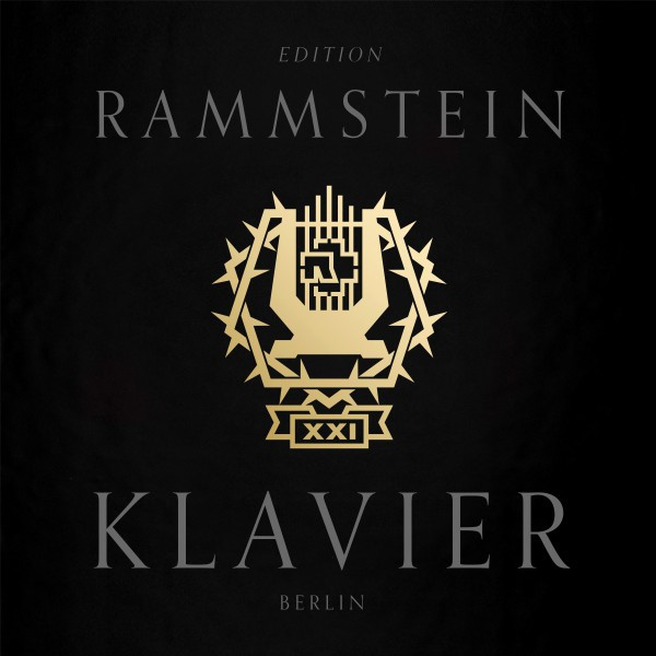 Album cover for XXI - Klavier by Rammstein