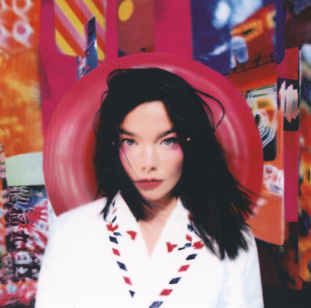 Skivomslag för Björk: Post