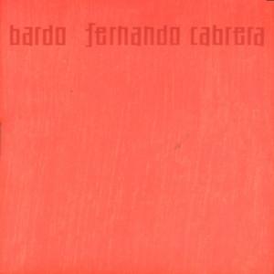 Bardo - Fernando Cabrera