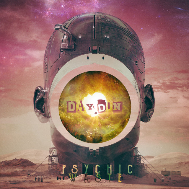Album cover for Psychic Waste by Day Din