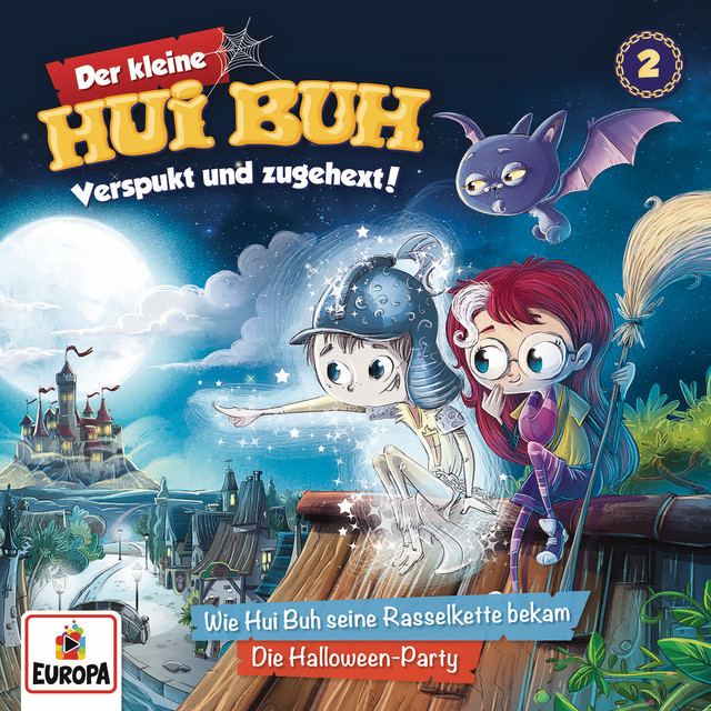 002 - Hui Buh und seine Rasselkette - Halloween-Party Cover