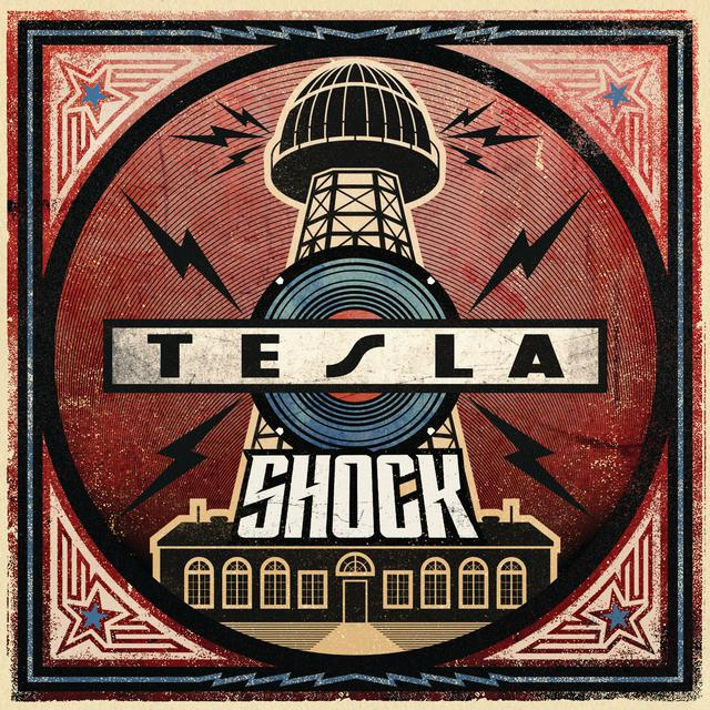 Album cover for Shock by Tesla
