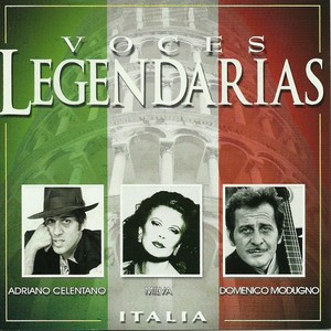 Voces legendarias (Italia) Albumcover