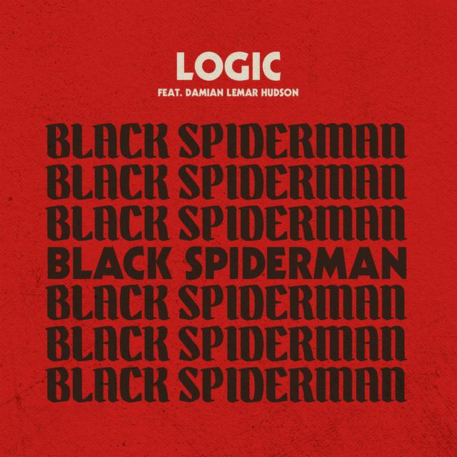 Logic Black SpiderMan album cover