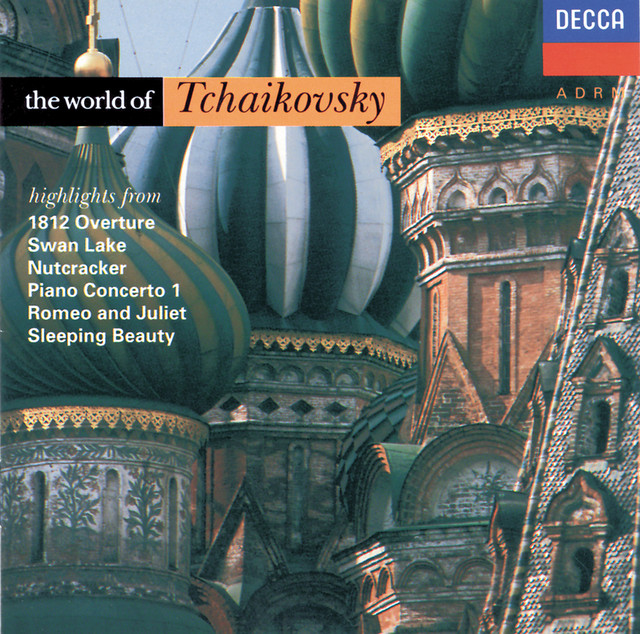 The World of Tchaikovsky Albumcover