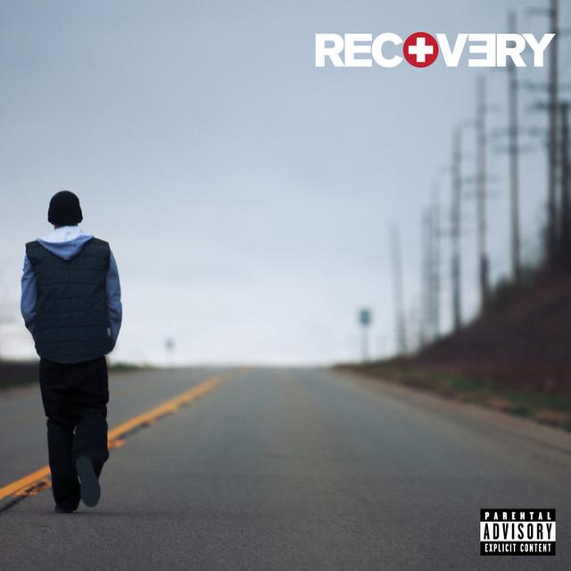 Skivomslag för Eminem: Recovery