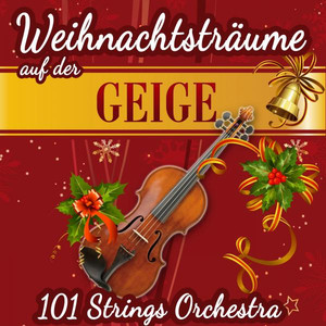 Traditional, 101 Strings We Wish You a Merry Christmas cover