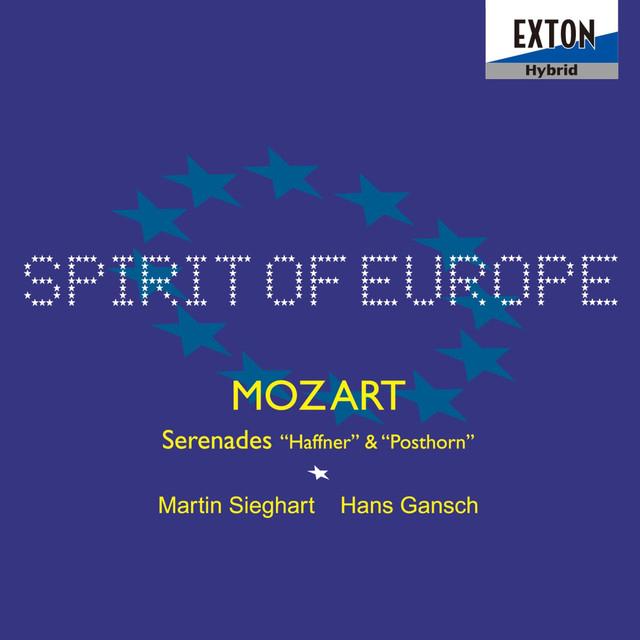Mozart: Serenades ''Haffner'' & ''Posthorn'' Albumcover
