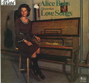 Elizabethan Love Songs album