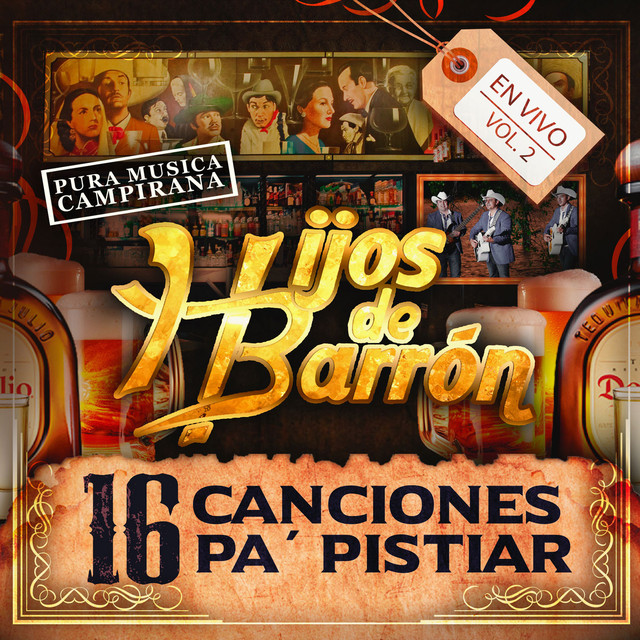 16 Canciones Pa' Pistiar, Vol. 2 (En Vivo)