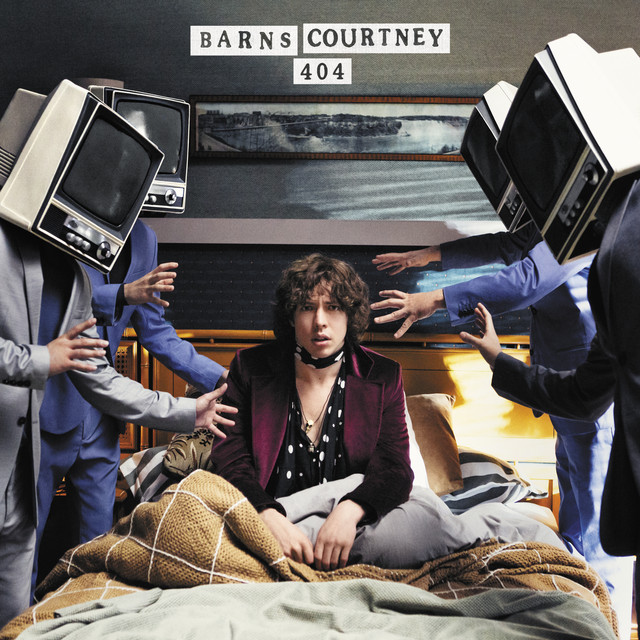 Album cover for 404 by Barns Courtney