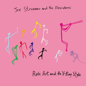 Joe Strummer, Joe Strummer Sandpaper Blues cover