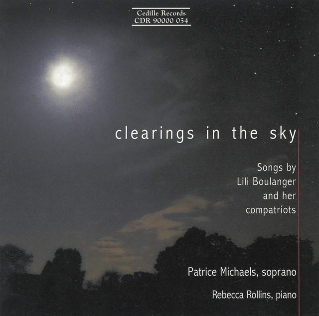 Faure / Boulanger / Ravel / Debussy: Songs Albumcover