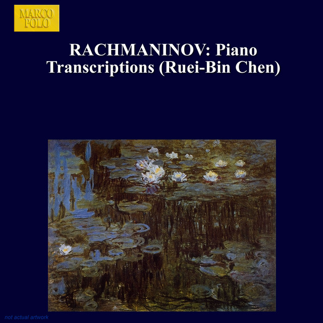Rachmaninov: Piano Transcriptions Albumcover