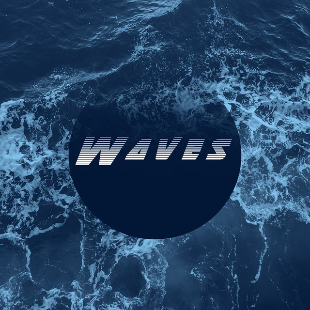 Album cover for Waves by Relaxed Minds