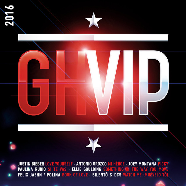 Album cover for GH Vip 2016 by Various Artists