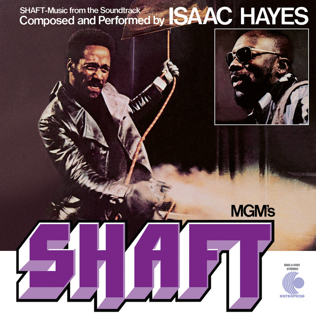 Isaac Hayes Shaft (Music From The Soundtrack) album cover