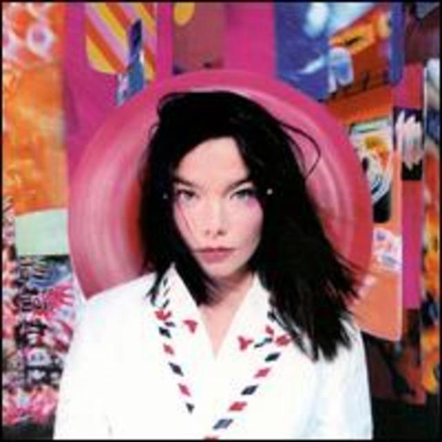 Björk Post album cover
