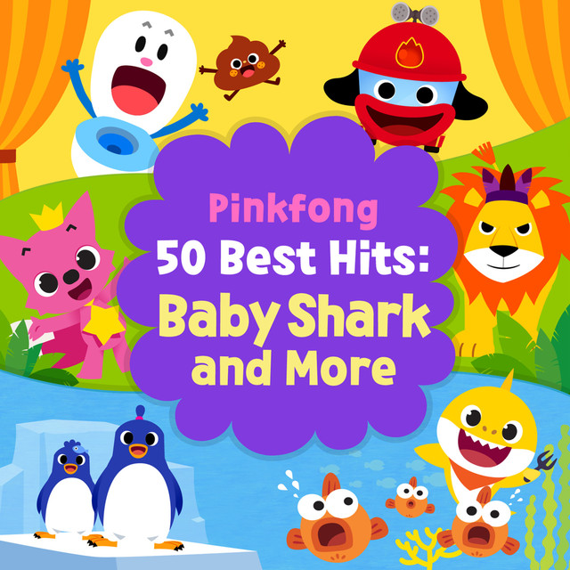 Pinkfong 50 Best Hits Baby Shark And More By Pinkfong On