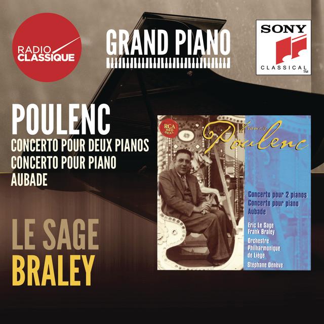 Poulenc: Concertos, Aubade - Le Sage / Braley Albumcover