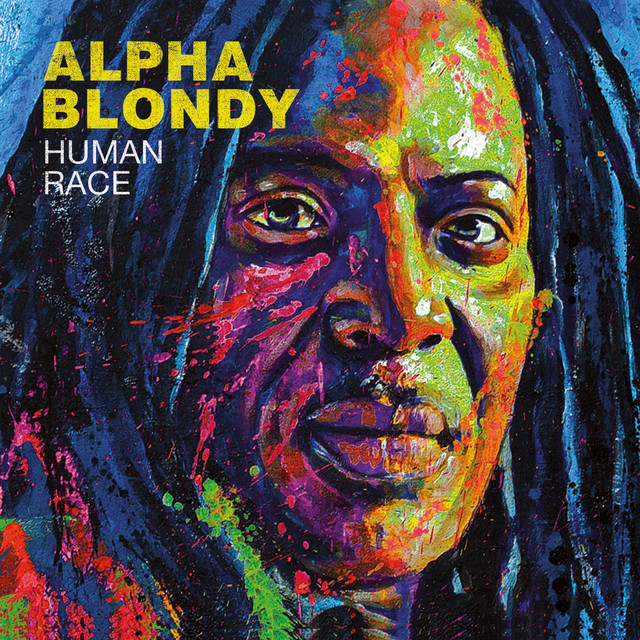 Album cover for Human Race by Alpha Blondy