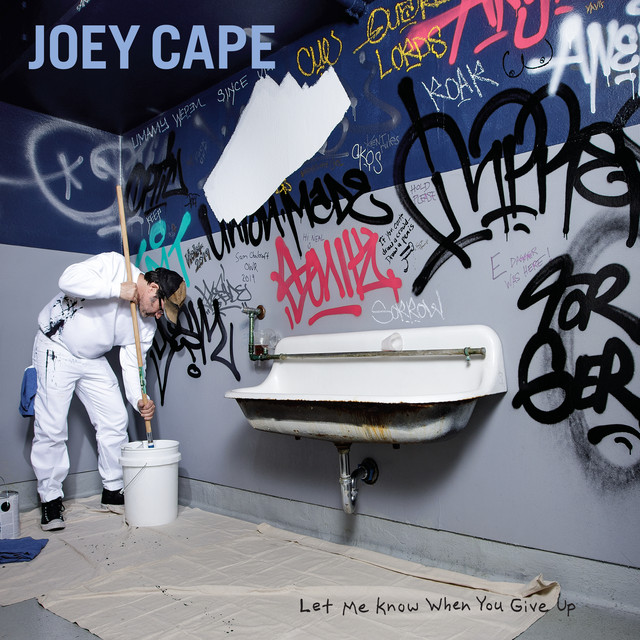 Album cover for Let Me Know When You Give Up by Joey Cape