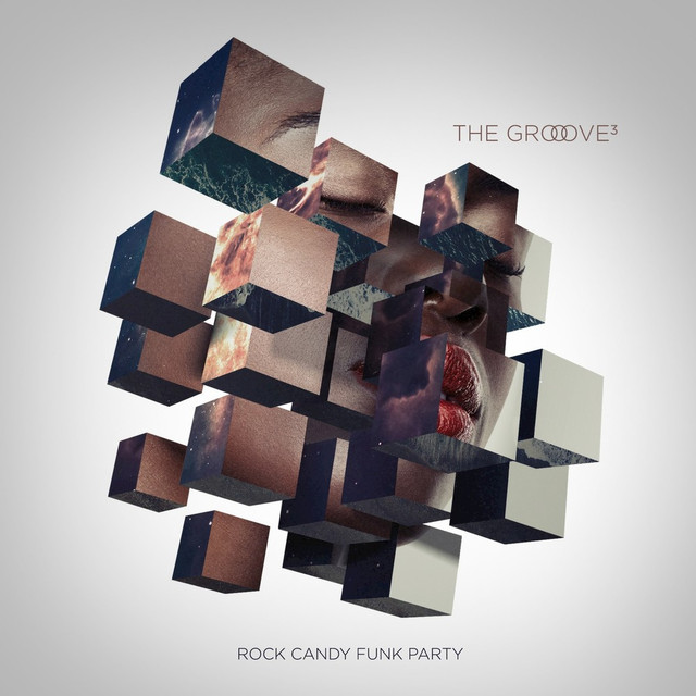 Album cover for The Groove Cubed by Rock Candy Funk Party